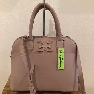 Sam Edelman Bonnie Dome Satchel in Mauve
